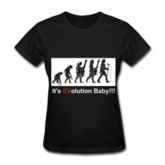 My PJ Inspired shirts... It's EVolution Baby!!!   Monkey turns into Eddie Vedder/Rockstar on the front.   Pearl jam 10 on the back.  More Designs, Colors and styles (Men and Women's)  sizes available at:   http://becksshirts.spreadshirt.com
