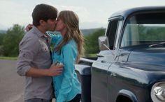 Heartland Season 10, Amy And Ty Heartland, Heartland Cbc, Heartland Ranch, Ty Et Amy, Amber Marshall, Strong Family, Family Values, Kissing Him