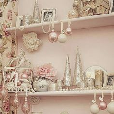 I Heart Shabby Chic: I heart Shabby Chic Christmas Home Decor 2013 #1