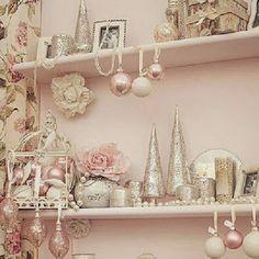 I Heart Shabby Chic: I heart Shabby Chic Christmas Home Decor 2013 #1