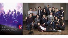 Victoires de la musique 2017 vendredi 10 Février sur F2