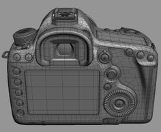 Canon EOS Mark III Kit Model available on Turbo Squid, the world's leading provider of digital models for visualization, films, television, and games. Maya Modeling, Modeling Tips, Polygon Modeling, Hard Surface Modeling, Digital Sculpting, 3d Model Character, 3d Mesh, 3d Modelle, Modeling Techniques