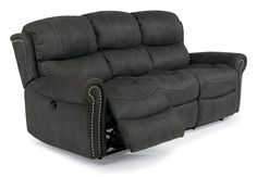 Contrast heavy-thread stitching. Blue steel spring unit. Attached back cushions. Attached high-density seat cushions. Zero-wall-proximity feature allows you to recline in any position with the furniture placed only inches away from the wall.