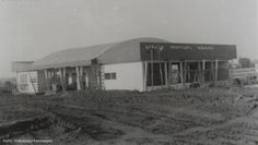 1956 - PARANAVAÍ - ESTAÇÃO RODOVIÁRIA  EM CONSTRUÇÃO.
