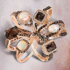 Discover the Le Vian Nude Palette™ of diamonds and gems - the 2018 Spring Color Trend of the Year! The trend is all about skin tones, neutrals that complement your complexion and provide monochromatic sparkle that is complementary to anything and everything you wear!?#LeVian #KelleyJewelers #DowntownWeatherfordOK #ChocolateDiamonds
