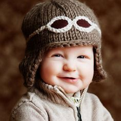 Wilbur Aviator Hat - How cute is this!