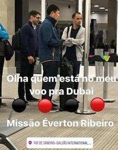 Voltam com Everton Ribeiro? Diretor e médico do Flamengo são flagrados viajando para Dubai