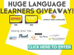 Lindsay Does Languages 5th Birthday Giveaway!