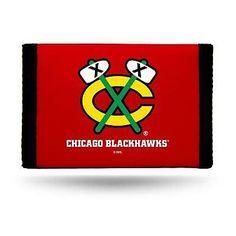 NHL Chicago Blackhawks Nylon Trifold Wallet