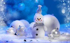 Snow Ice Cute Dolls Wallpaper Wallpaper
