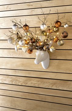 Chalet D'Amour, Christmas by Pfister - this speaks to me. what about some other type of fixture with bunches of pretty things hanging in a sort of floating sculpture Christmas Home, Handmade Christmas, Christmas Holidays, Christmas Wreaths, Merry Christmas, Christmas Decorations, Xmas, Christmas Ornaments, Holiday Decorating
