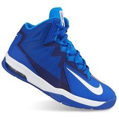 detailed look bc1fd cb6e1  70.00 Nike Blue Air Max Sutterstep Blue Grade School Boy s Shoes