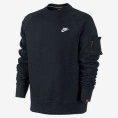 Nike Sweatshirt the boarders between thermal and sweatshirt. Nice.