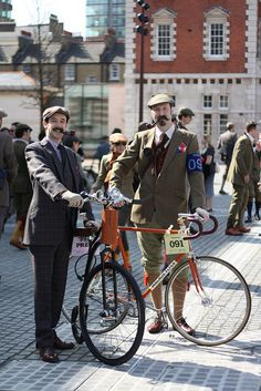 Tweed Run 2010 by fleurdeguerre, via Flickr