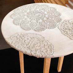 Lace table by Mensch Made | A Walk Through Maison&Objet September 2014 | Flodeau.com