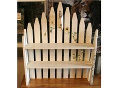White Picket Fence Shelf