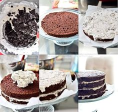Oreo Cookie Cake Filling Recipe. As it it makes a thinner filling ratio but would recommend to double recipe if you like a higher filling ratio. And if you have left overs grab a spoon!