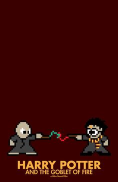 Harry Potter and the Goblet of Fire--8 Bit movie posters
