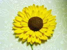 Gumpaste Sunflowers by GumpasteGarden on Etsy, $13.00