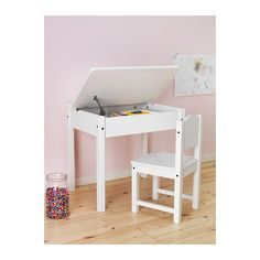 SUNDVIK Escritorio p/niño - blanco - IKEA € 49,99