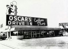 Oscar's was THE place to see and be seen on date nights.  Guys would cruise through the parking lot showing off their car and girl, and then find a prime spot to peruse the scene while enjoying a 25 cent hamburger and a 10 cent Coke.