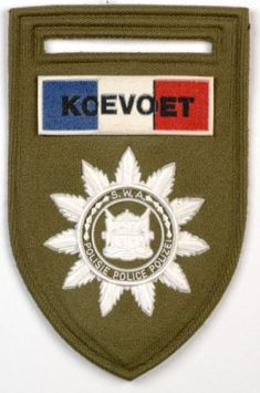 The Veldt, Warrant Officer, Green Beret, Defence Force, Insurgent, West Africa, Coat Of Arms, Badge, Police