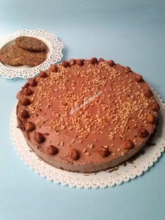 cheesecake alla nutella e mascarpone senza gelatina
