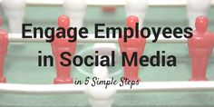 Engage employees in social media:  Instead of instilling policies to try to prevent team members from using social media at work, more and more companies are incorporating their employees' social media enthusiasm into their marketing.  #Marketing  #SocialMedia