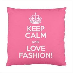 Keep Calm and love Fashion Cushion Case - Home Decor Cover throw pillow Artwork #PillowDcor