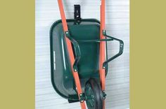 Wheel Barrow Storage