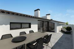 terrassa dúplex Cloud Computing, Web Application, Consumer Products, Windows, Architecture, Outdoor Decor, Home Decor, Arquitetura, Decoration Home
