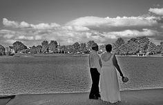 Bride and Groom - Lake Anna in Barberton, Ohio