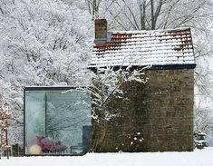 Great Idea! Glass extension.