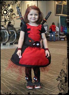 Cosplays Infantis Em Homenagem ao Dia das Crianças. Baby Cosplay, Marvel, Vintage, Style, Fashion, Skirt, Swag, Moda, Fashion Styles