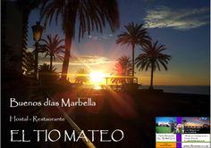 BUENOS DIAS MARBELLA amanecer  #marbella @hostaltiomteo