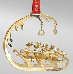 Georg Jensen Christmas Ornaments Collection | Georg Jensen (Denmark) Annual Christmas Mobile Ornament at ...