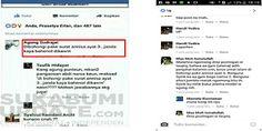 Innalillahi... Netizen Unggah Status Fesbuk 'Dibohongi Pake Surat An-Nisa Ayat 3'