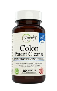 Colon Potent Cleanse for Detox and Improved Digestion - Best Weight Loss Supplement