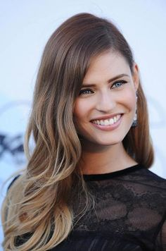 Bianca Balti Ombre - Hairstyles and Beauty Tips