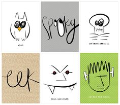 FREE Halloween Printables First Sheet By P.S. Please Send Chocolate