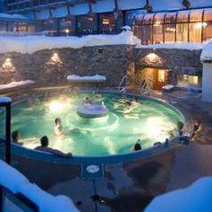Sunshine Mountain Lodge hot tub Photo courtesy of Richard Hallman