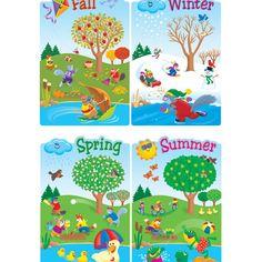 The Four Seasons display banners (SB6825) - SparkleBox | Bulletin