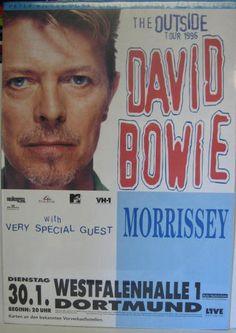 david bowie outside tour poster - Google-haku