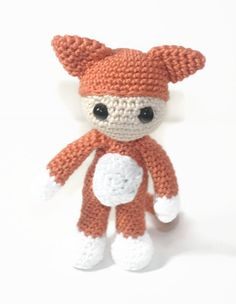Itty Bitty Cat by EmmaIrlamCrafts on Etsy