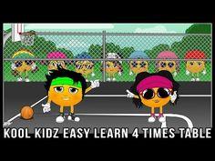 8 Times Table Song (Kool Kidz) Learn The Fun Way! - YouTube
