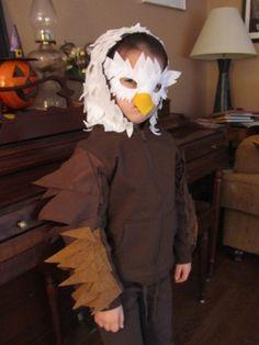 Adler Kostüm selber machen |Kostüm Idee zu Karneval, Halloween, Fasching & Vogelball 5