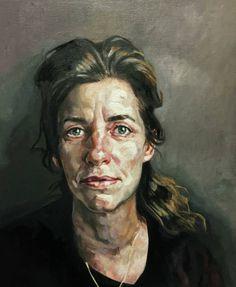 "Saatchi Art Artist Rogier Willems; Painting, ""Kristien"" #art"