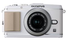 Olympus PEN E-P3 12.3 MP Live MOS Mirrorless Digital Camera with 14-42mm Zoom Lens (White) (Old Model)