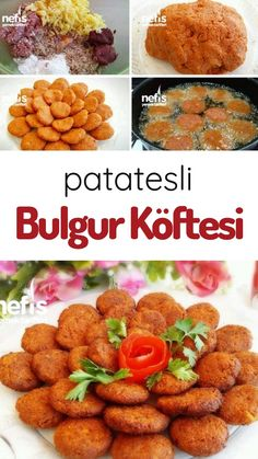 How to Make Potato Bulgur Meatball (Making) Recipe? Illustrated explanation of this recipe in the book of people and photos of those who try it are here. Author: Suzanin Kitchen World vegetarisch lifestyle recipes grillen rezepte rezepte schnell Dinner Party Recipes, Paleo Dinner, Dessert Recipes, Yummy Recipes, Recipe For 8, Making Recipe, Turkish Recipes, Ethnic Recipes, How To Make Potatoes