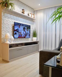 [New] The 10 Best Home Decor Today (with Pictures) Living Room Tv Unit Designs, Small Apartment Interior, Sala Grande, Living Room Decor Inspiration, Home Room Design, Small Living Rooms, Home Decor Furniture, Decoration, Home Theater